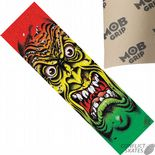 "SANTA CRUZ MOB ""Face"" Skateboard Griptape 9""x33"" RASTA Jim Phillips Rob Roskopp"